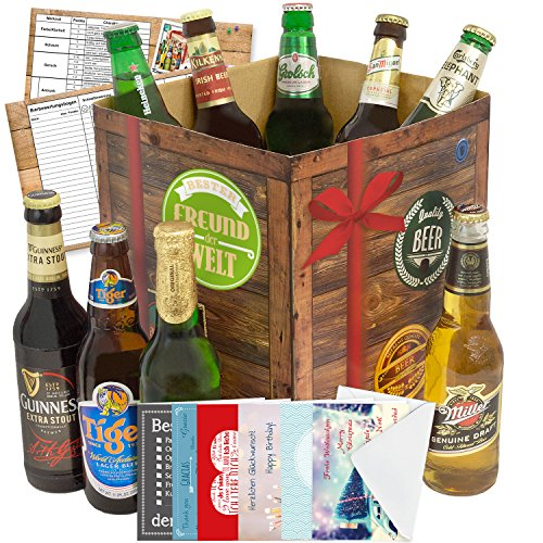 beste freunde bier geschenk biere der welt geschenkbox gratis geschenk karten. Black Bedroom Furniture Sets. Home Design Ideas