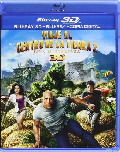 Viaje Al Centro De La Tierra 2: La Isla Misteriosa [Blu-ray]