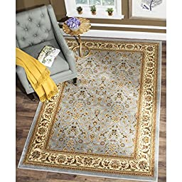 Safavieh Lyndhurst Collection LNH312B Light Blue and Ivory Area Rug, 6 feet by 9 feet (6\' x 9\')