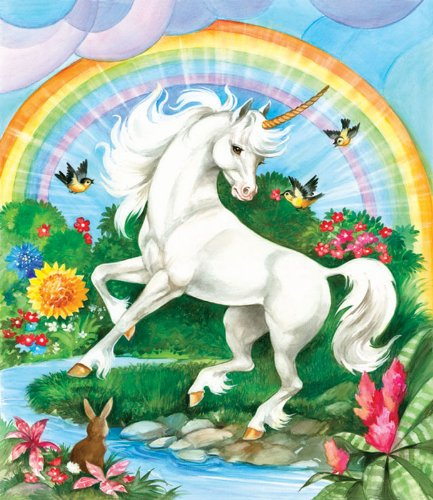 Unicorn a 200-Piece Jigsaw Puzzle by Sunsout Inc.