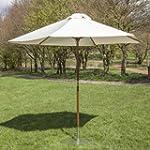 Alfresia 2.7m Garden Parasol in Cream