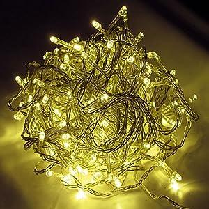 48er LED Lichterkette Aussen und Innen warmweiss