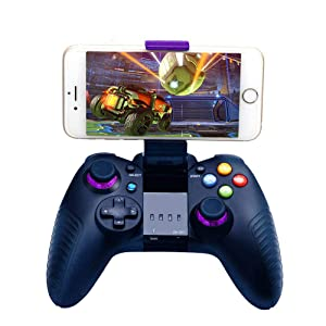 Mobile Game Controller, STOGA Wireless Controller Remote Gamepad for iOS and Android (Color: Blue, Tamaño: 8710A)