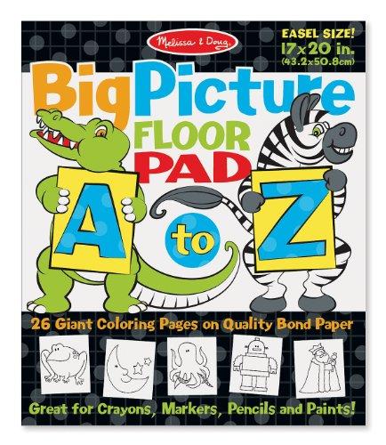 Melissa & Doug A-Z Easel Pad - 1