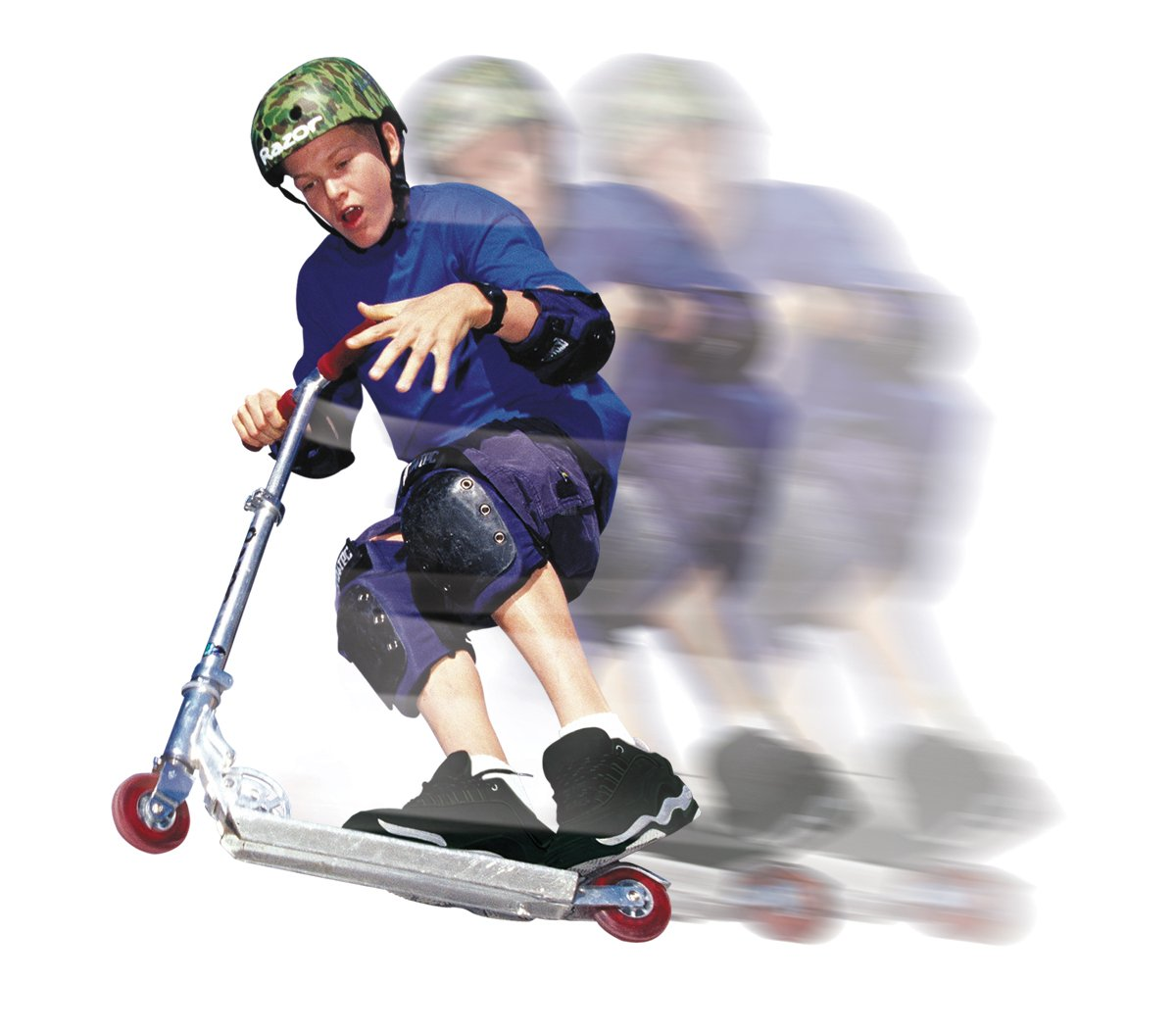 scooter - gross motor skills