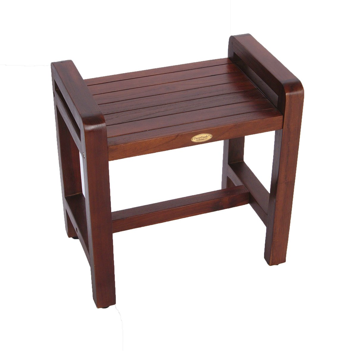 Teak Shower Bench with Lift Aide Arms