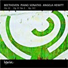 Beethoven: Piano Sonatas Op. 22, Op. 31 No. 3, Op. 101