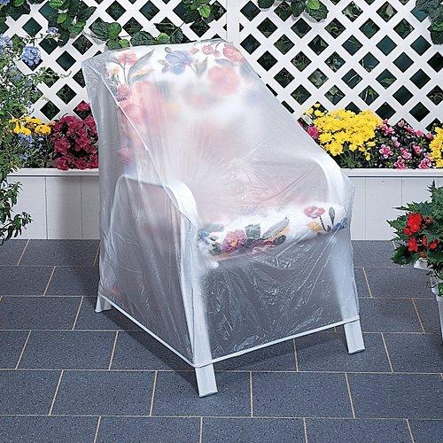 Vinyl Furniture Outdoor: Set Of 2 Outdoor Vinyl Clear Chair Furniture Protector