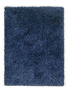 5 Sizes Available - Nordic - Cariboo Denim Mix - Good Quality Shaggy Rug by Flair Rugs