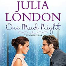 One Mad Night Anthology (       UNABRIDGED) by Julia London Narrated by Kathleen McInerney