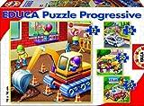 Educa Borras Vehicles Puzzle (12/ 16/ 20/ 25 Pieces)