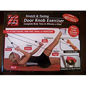 Bally Fitness Pilates Door Knob Rope Excerciser at Amazon.com