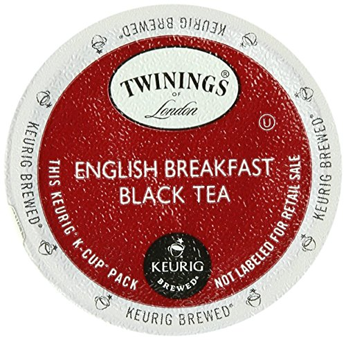 Twinings English Breakfast Tea, Keurig K-Cups, 24 Count