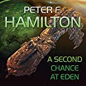 A Second Chance at Eden Audiobook by Peter F. Hamilton Narrated by Steven Crossley
