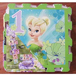 Buy Tinkerbell Great Fairy Rescue Soft Foam Hopscotch Play