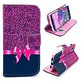 Bracevor Rose Bowknot Wallet Leather Flip Case for LG Google Nexus 5