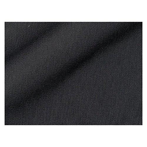 Stoffe - Polsterstoffe - Möbelstoffe - Meterware - Sitzbezug - Neptun CS - Trevira CS - Uni - Grau, Schwarz - MUSTER