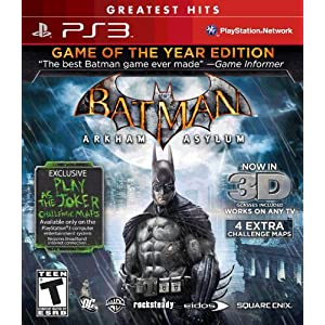 Online Game, Online Games, Video Game, Video Games, PlayStation 3, Xbox 360, PS3, Batman Arkham Asylum: Game of the Year