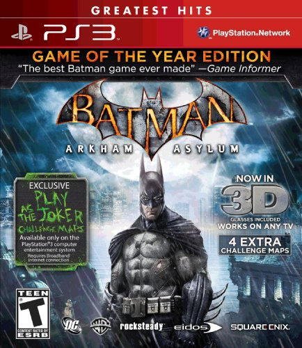 Batman Arkham Asylum: Game of the Year Greatest Hits