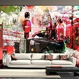 Non-woven !! Top !! Photo wallpaper ! Murals ! Wall Mural Photo !! 100x70 cm - London 10110904-4 ! Free glue for each wallpaper !