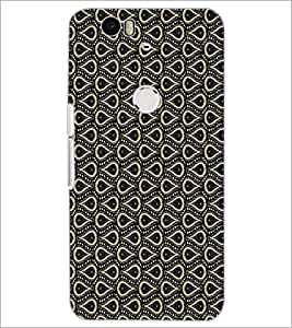 PrintDhaba Pattern D-1520 Back Case Cover for HUAWEI NEXUS 6P (Multi-Coloured)