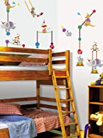 Ambiance-sticker Vinilo Decorativo Circus animalss