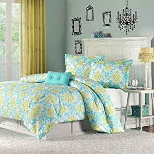 Katelyn Printed Comforter Set Size Twin Twin