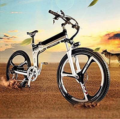 Yoli® New Bicycle 48V Lithium Battery Electric Snow Bike SHIMAN0 Mountain Bike,road bike,electric bike ,7 speed