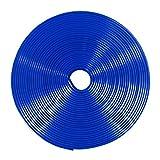 MAXWIN(マックスウィン) リムラインモール 8m リムガード タイヤ ホイール ガード キズ防止 キズ隠し カラー テープ ドレスアップ DIY 耐熱耐寒性ゴム (青) K-LIM01-B