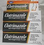 [3 Pack] Clotrimazole Anti-Fungal Cre...