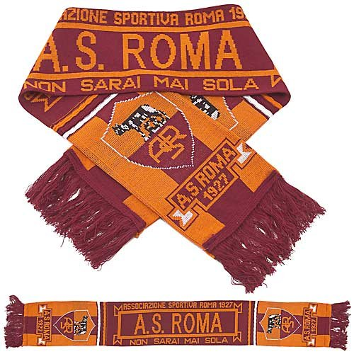 AS Roma - Premium Fan Scarf, Ships from USA