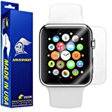 ArmorSuit Apple Watch 38mm (Series 2/3 Compatible) Screen Protector [2 Pack] MilitaryShield Anti-Bubble Screen Protector Compatible with Apple Watch 38mm (Series 2/3 Compatible) -HD Clear Anti-Bubble