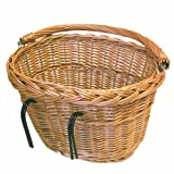Basil Wicker Oval Hook-On Front Basket