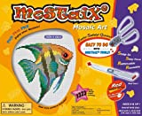 Kids Educational Activity Toy Mostaix Red Ribbon Series Angelfish Mosaic Art Set