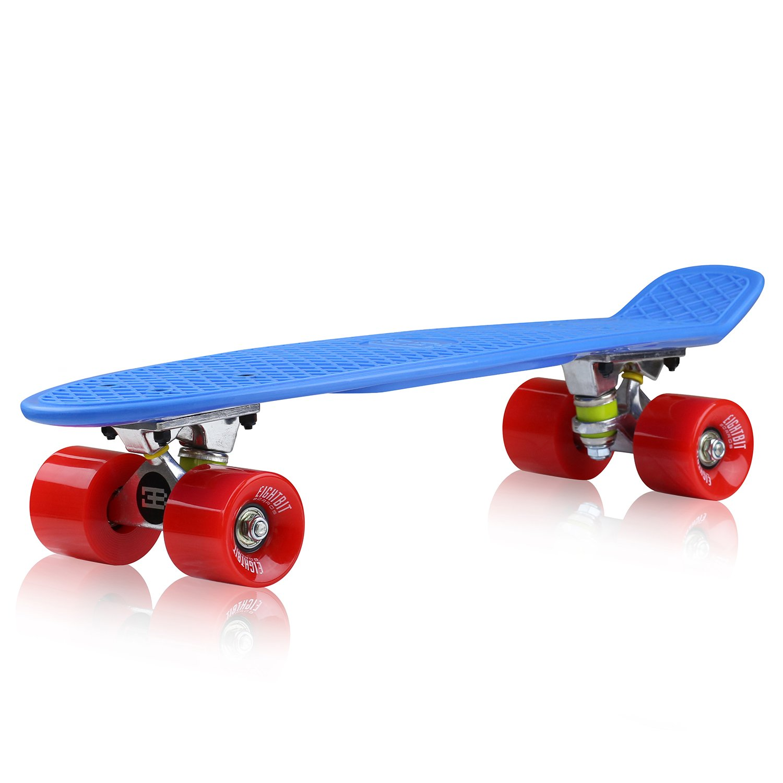 EightBit 22 Inch Complete Skate Board - Retro Skateboard - Nova / Fury