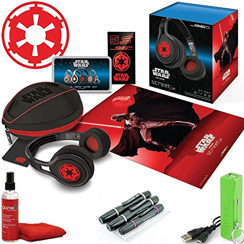 Star Wars Darth Vadar Galactic Empire Limited Edition Sms Audio By 50 Cent On-Ear Wired Street Headphones
