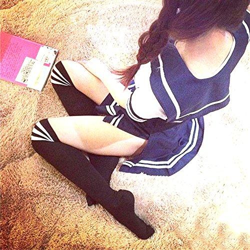 超 セクシー セーラー服 女子高生 コスプレ ムッチリ ぱつぱつ マイクロ ミニ すべすべ 伸縮素材