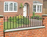 WENLOCK BALL TOP METAL RAILING