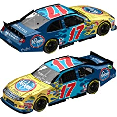 Buy Action Nascar Racing Collectible 2011 Matt Kenseth #17 Kroger 1 64 Kids Hardtop Ford Fusion Lnc by Action
