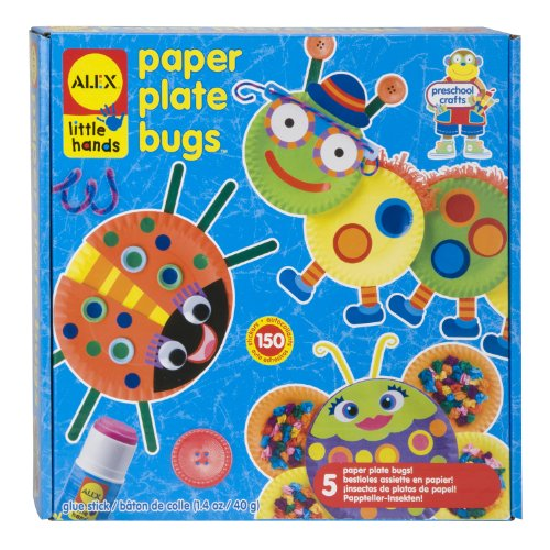Alex Toys Paper Plate Bugs, Alex Little Hands Art Series
