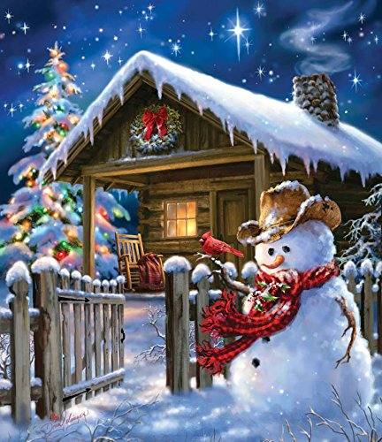 Christmas Cheer a 550-Piece Jigsaw Puzzle by Sunsout Inc.