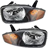 Driver and Passenger Headlights Headlamps Replacement for Chevrolet 22707274 22707273
