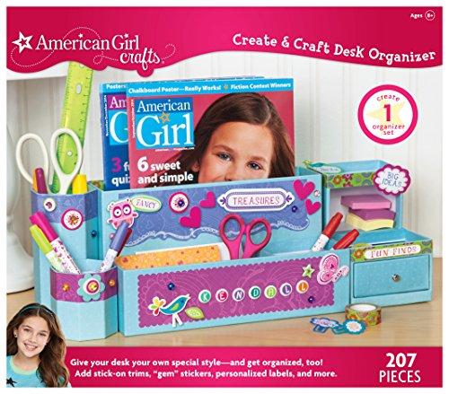 American girl crafts create craft desk organizer office for American girl craft kit