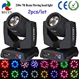 shipping from US 2pcs lamp 230W 7R Sharpy beam moving head Light 8 prisms stage lighting