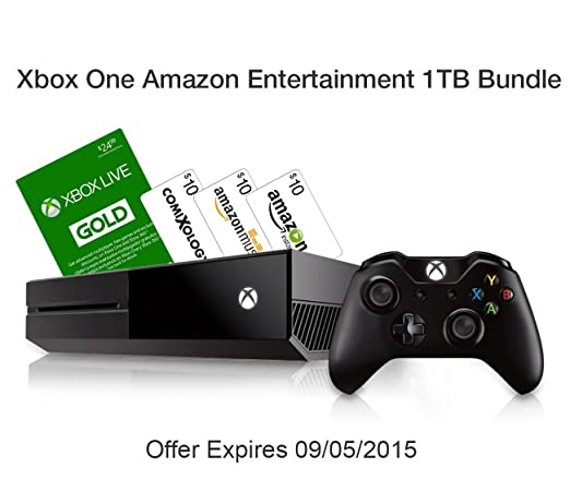 Xbox One Amazon Entertainment 1TB Bundle - Halo Master Chief Collection