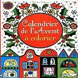 echange, troc Usborne publishing - Calendrier de l'Avent à colorier