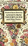 Sonnets from the Portuguese and Other Poems (0486270521) by Browning, Elizabeth Barrett