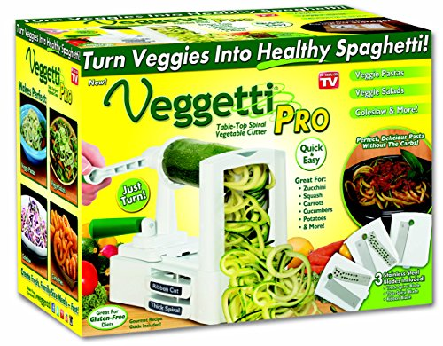 Veggetti Pro Table-Top Spiralizer