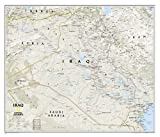 National Geographic Maps Iraq Classic, tubed Wall Maps Countries & Regions (National Geographic Reference Map)