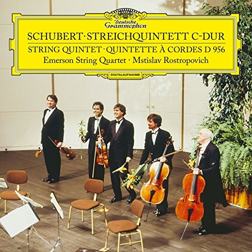 SCHUBERT / EMERSON STRING QUARTET - STRING QUINTET IN C D956 (LTD)